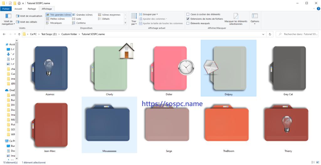 Custom Folder : personnalisez facilement vos dossiers