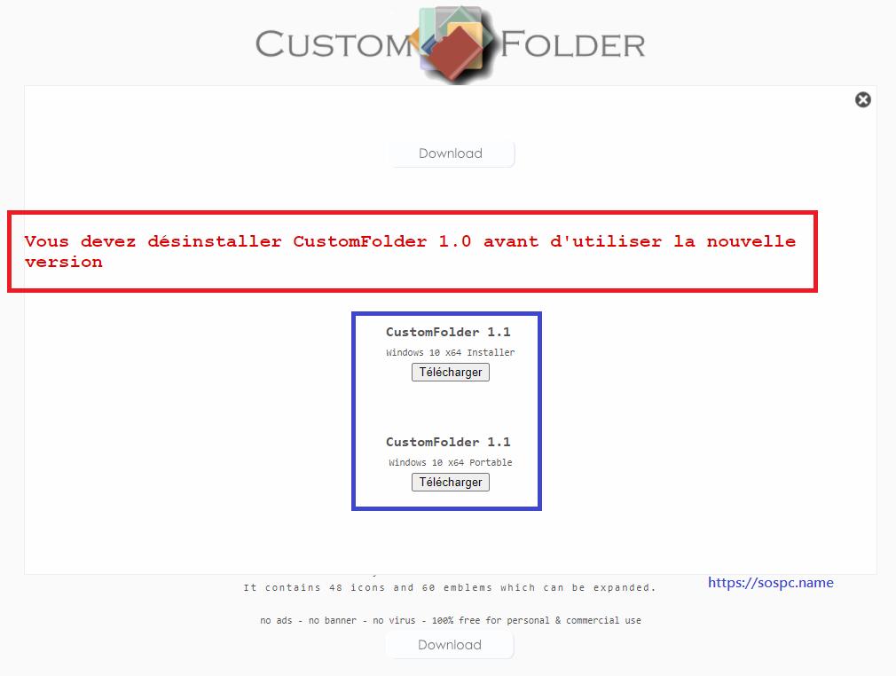 Custom Folder 1.1