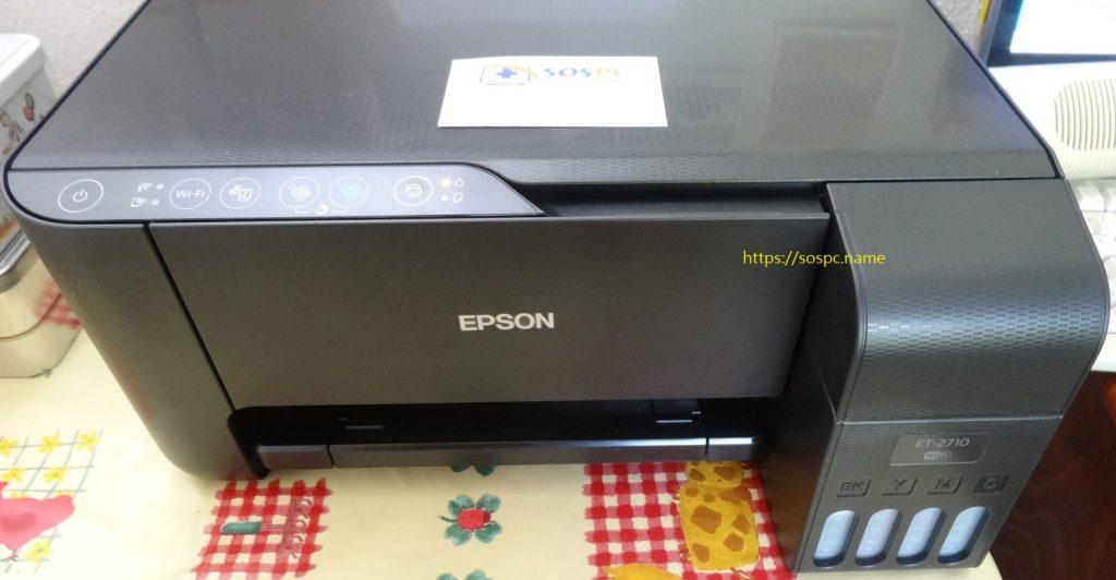Une imprimante Epson EcoTank avec réservoirs d'encre avis