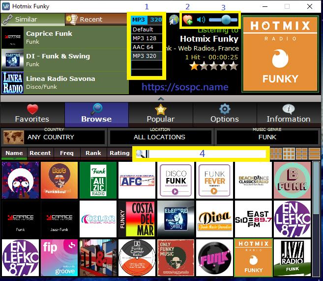 VRadio pour écouter des radios en ligne