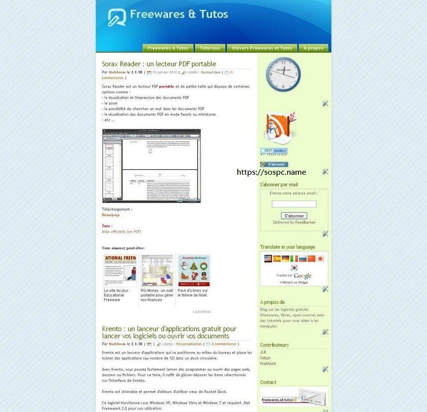 Freewares & Tutos fait peau neuve !