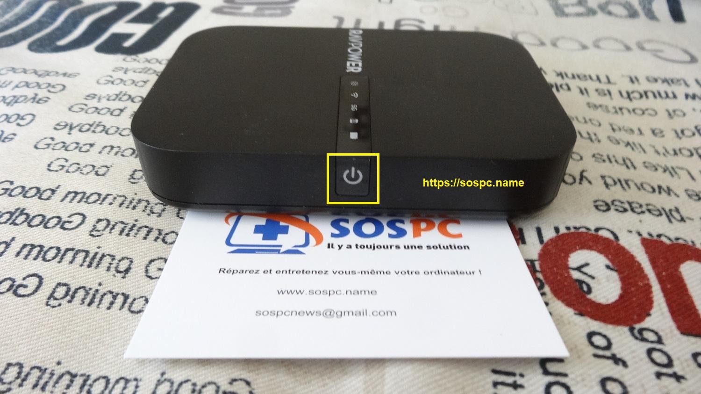 Un mini routeur / chargeur portable en test !