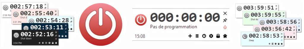 AutoOff, une version française traduite par SOSPC est disponible