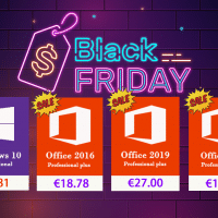 Le Black Friday ça continue : Windows 10 Pro à 7.81@ & Office 2016 Pro à 18.78€ !
