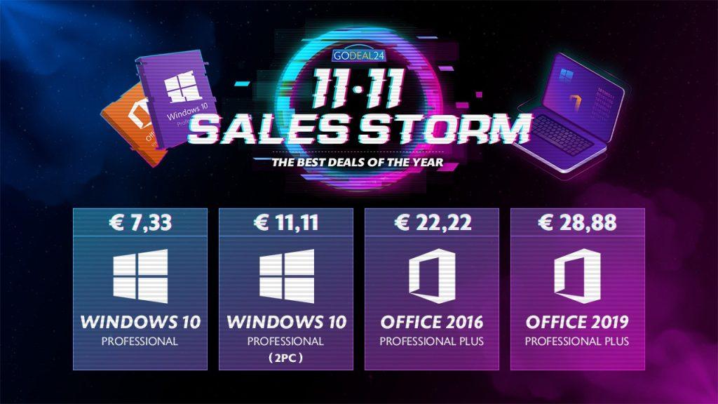 Profitez des meilleures offres de GoDeal24 : Windows 10 à seulement 7,33 € !