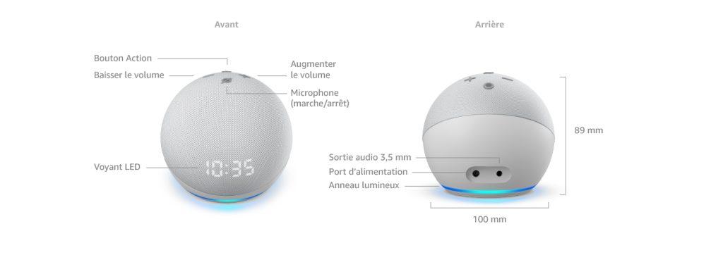 [Vidéo] Nouvel Echo Dot (4e génération) avec écran LED en test