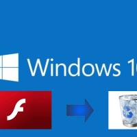 Windows 10 : Microsoft diffuse la KB4577586 afin de supprimer Flash Player