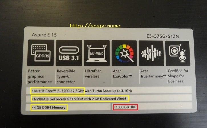 Remplacement d'un disque à plateaux par un SSD sur un portable Acer