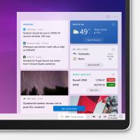 Windows 10 : désactiver le widget météo & actu dans la zone de notifications