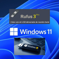 Windows 11 : Rufus crée une Clé USB bootable avec une image ISO contournant le TPM 2.0