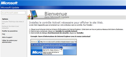 Réinitialiser ou réparer Windows Update pour Windows XP